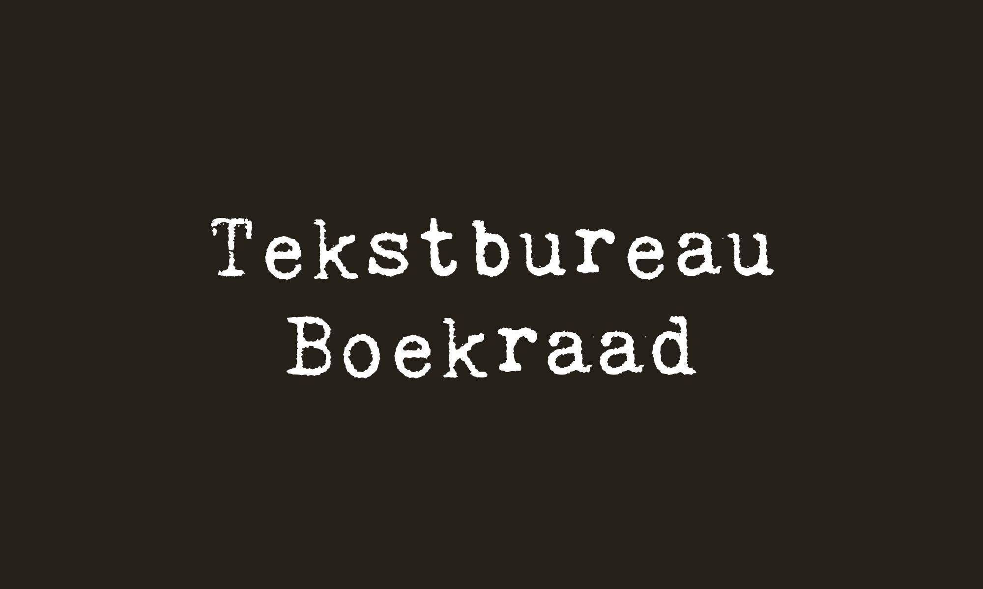 Tekstbureau Boekraad